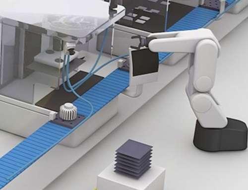System wizyjny i czujnik widełkowy w przemyśle spawalniczym