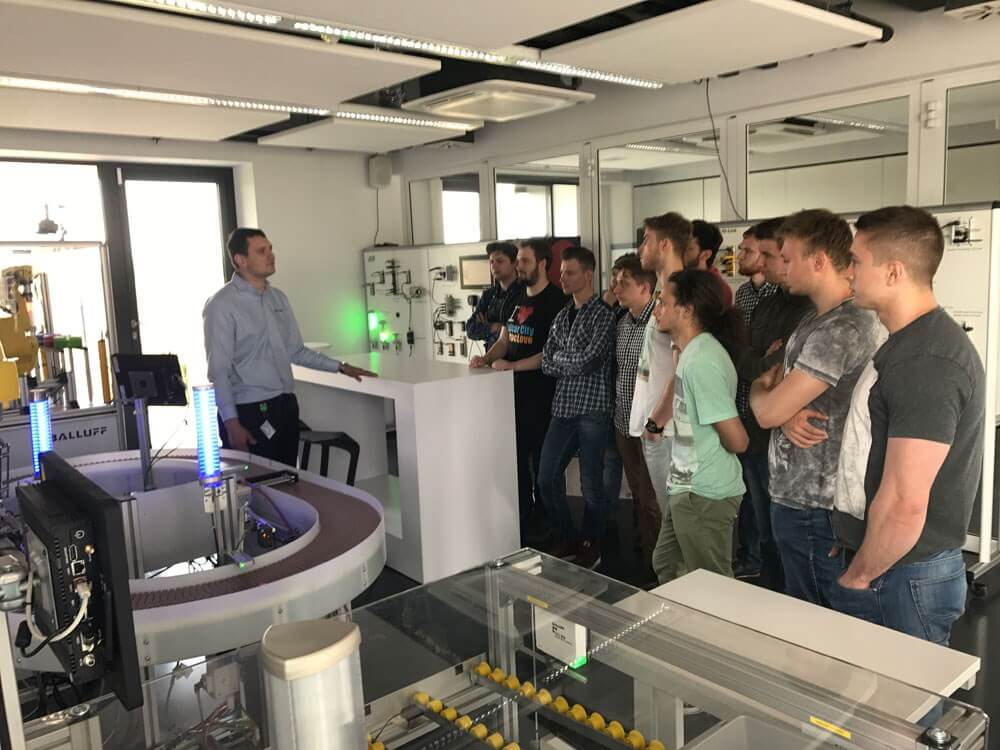 Welcome to automation - działania edukacyjne - Balluff Polska