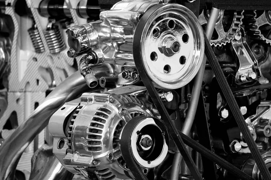Przykład zastosowania systemu RFID przy produkcji silników - Balluff