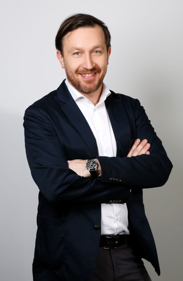 Wojciech Roczon - szef serwisu Balluff - Innovating Automation