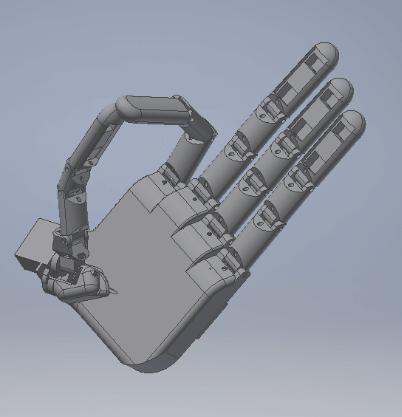 Proteza dłoni - projekt robotycznej ręki - Innovating Automation