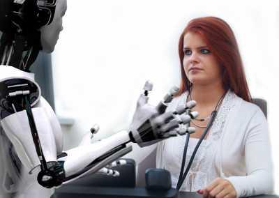 Inteligentne roboty pomagają człowiekowi - Balluff Innovating Automation